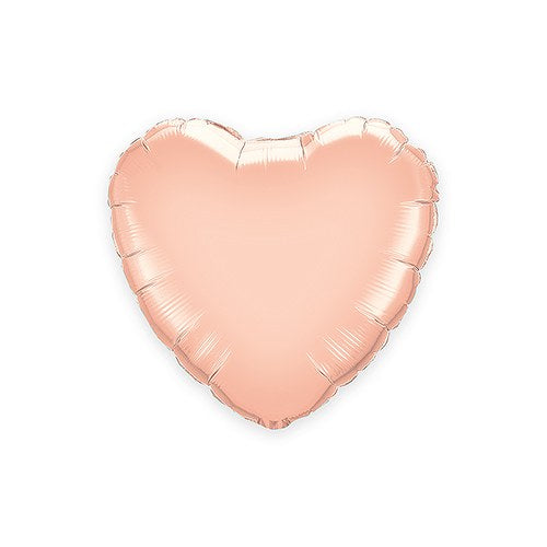 Rose Gold Foil Heart Party Balloon