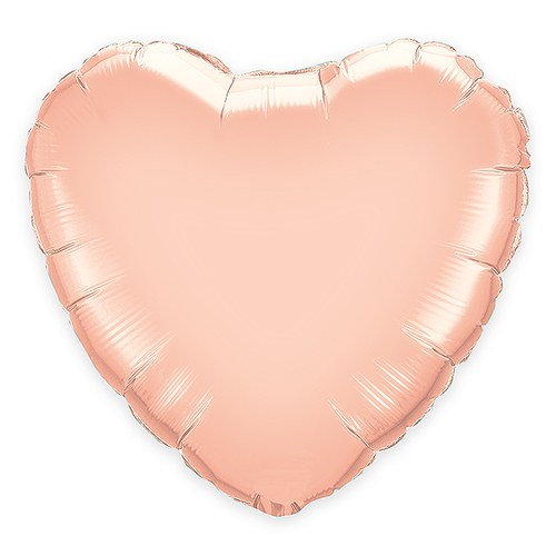 Rose Gold Foil Heart Wedding Party Balloon