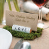 "Rustic ""Love"" Place Card Holder"