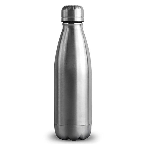 Central Park Travel Bottle - Matte Silver