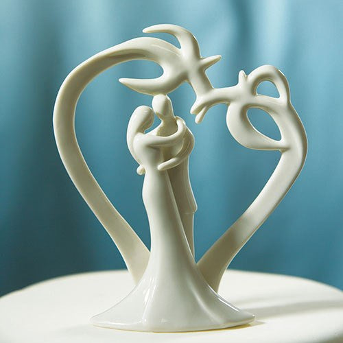 Tropical Breeze Beach Wedding Cake Topper