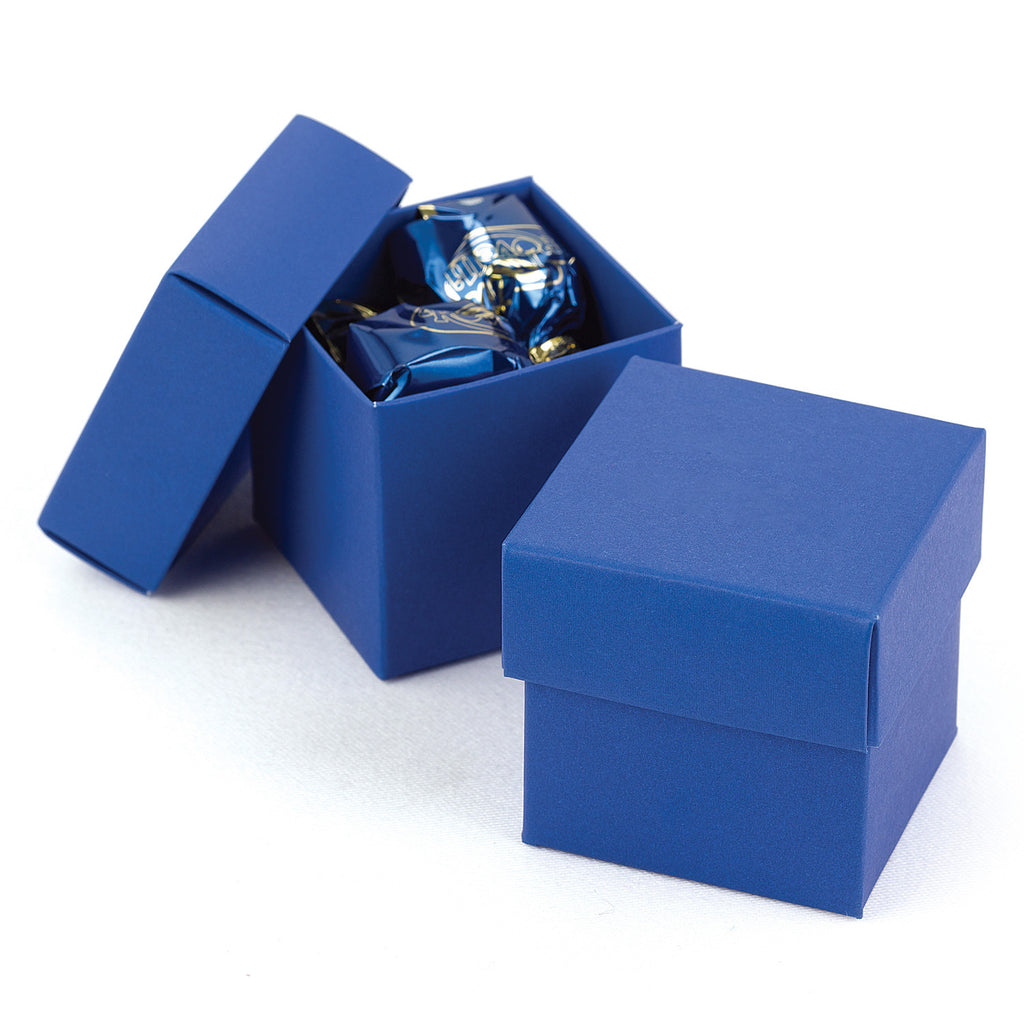 Royal Blue Two-Piece Wedding Party Favor Box