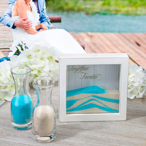 Together Forever Unity Sand Wedding Ceremony Frame