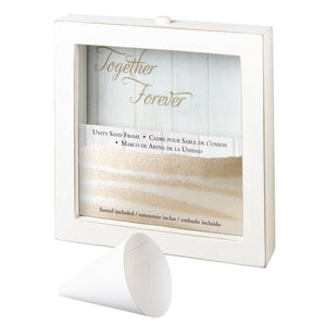Unity Sand Wedding Ceremony Frame Together Forever
