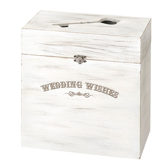 Personalized Wood Wedding Card Box