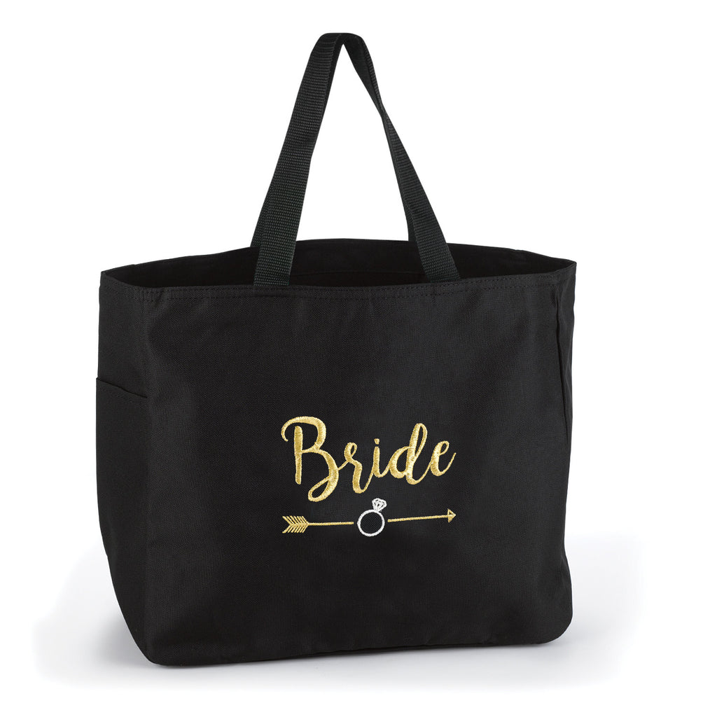 Bride Wedding Party Tribal Tote Bag