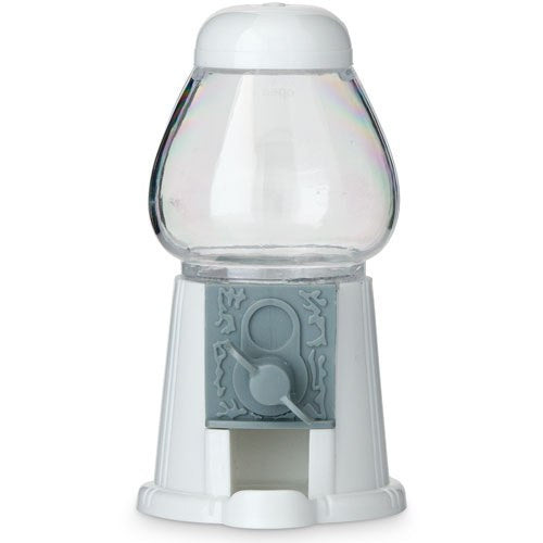 White Mini Gumball Machine Favor - Empty