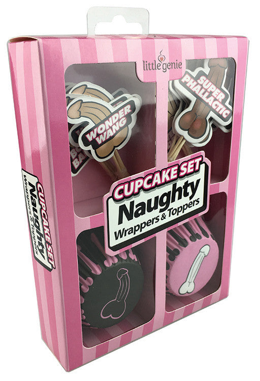 Naughty Cupcake Party Decoration Set