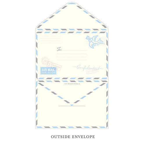 Special Delivery Airmail Stationery Set