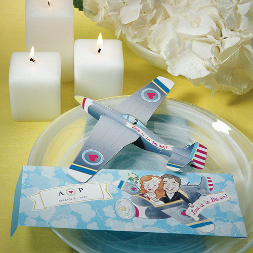 Airplane Wedding Favor Ideas