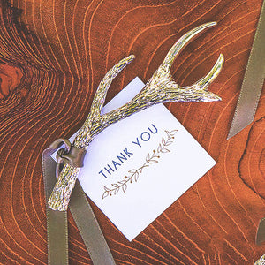Antler Bottle Opener Wedding Favors