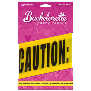 CAUTION BACHELORETTE PARTY - DANGER WILD WOMEN 20 Ft. Caution Tape
