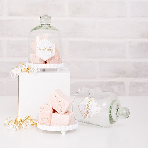 Mini Bell Glass Jar Wedding Party Favor Idea