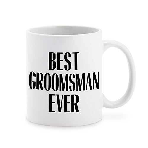 Personalized Best Groomsman Ever Coffee Mug