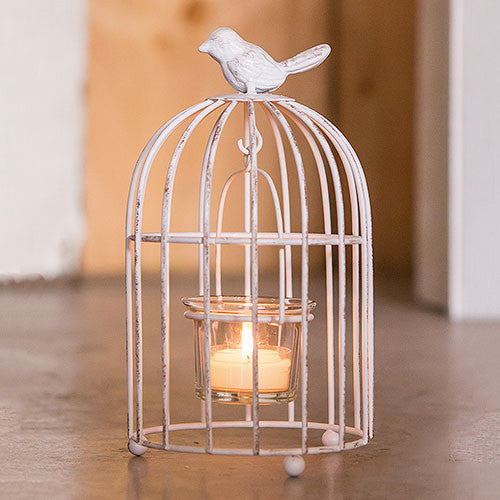 Small Wedding Decorative Birdcage Candle Holder