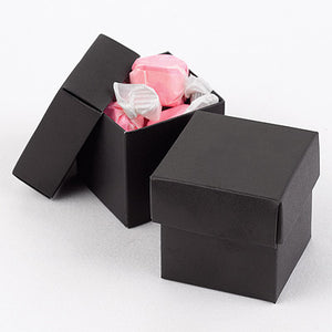 Black 2-Piece Favor Box