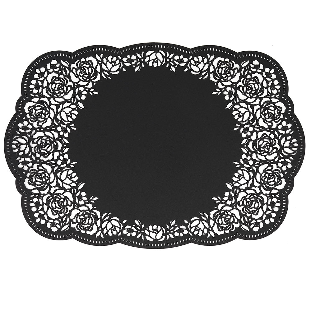 Floral Place Mat for Weddings and Party Table Settings (Pack of 12)