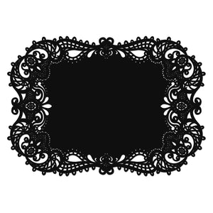 Lace Like Laser-Cut Filigree Wedding Placemat (Packs of 12)