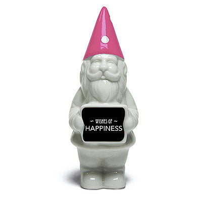 Wishes of Happiness Favor Sticker for the Mini Gnome Favor