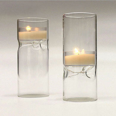 Blown Glass Mini Tealight Candle Holder