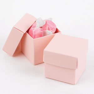 Colorful Two Piece Wedding Party Favor Box (Pack of 25)