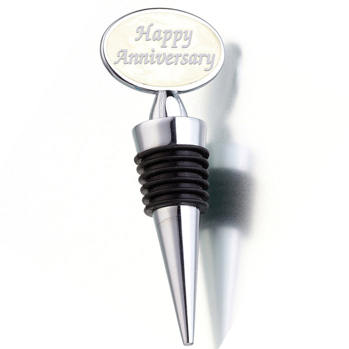 Happy Anniversary Bottle Stopper (Pack of 4)