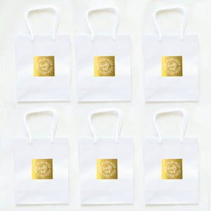 Bridal Party Gift Bags (Pack of 6)