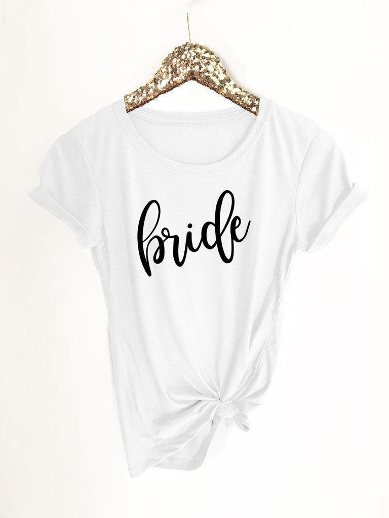 Bridal Party Fitted T-Shirt