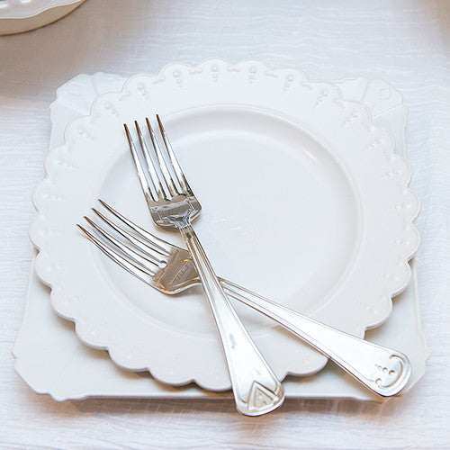 Bride and Groom Wedding Cake Plate and Silverware Ceremony Set Save  Preview More Duplicate