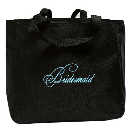 Bridal Wedding Party Tote Bag