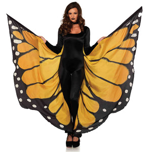 Festival Monarch Butterfly Wing Halter Cape