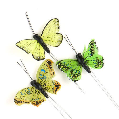 Butterfly Wedding Party Decorations (25 Butterflies)
