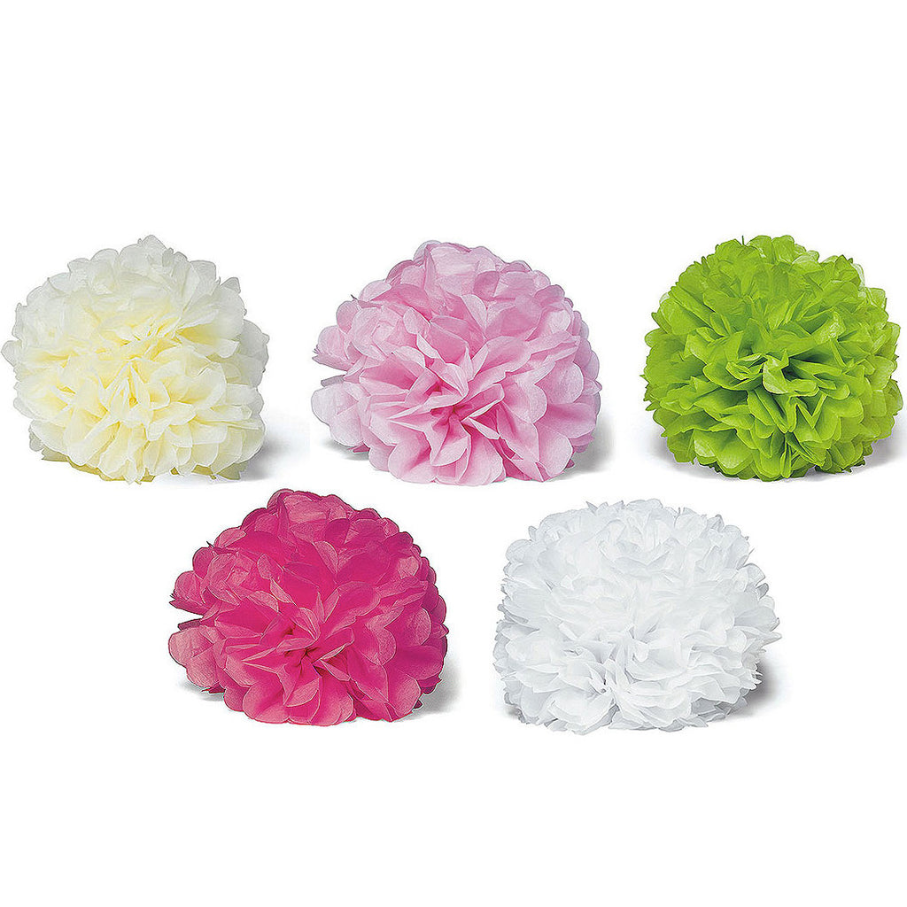 Peony Tissue Paper Flowers