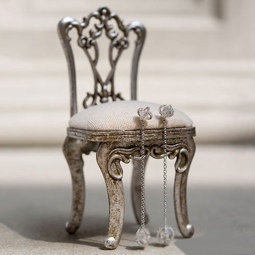 Miniature Chair Wedding Ring Jewelry Holder