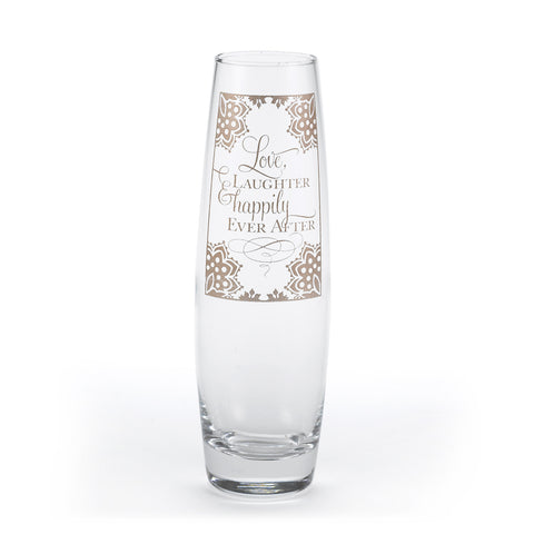 Happily Ever After Flower Ceremony Vase