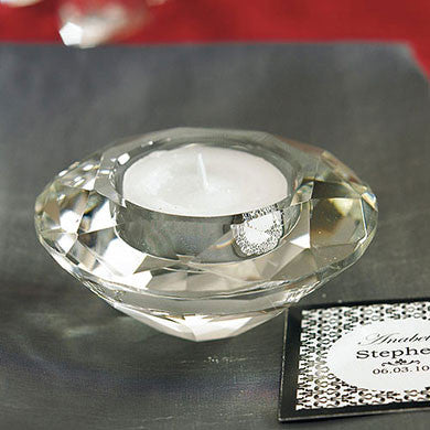 Crystal Tealight Candle Holder