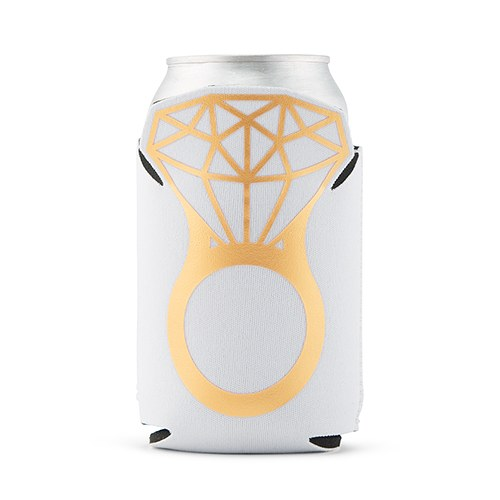 Wedding Engagement Drink Can Party Koozie