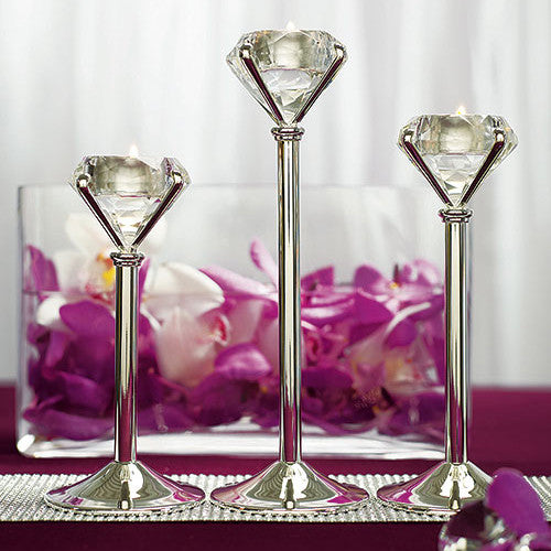 Diamond Tealight Candle Holders
