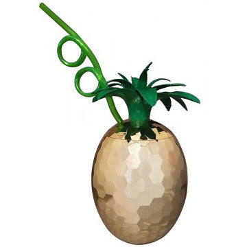 Disco Pineapple Beach Tiki Party Cup