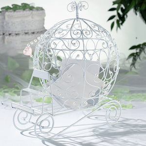 Fairytale Princess Carriage Wedding Card Holder