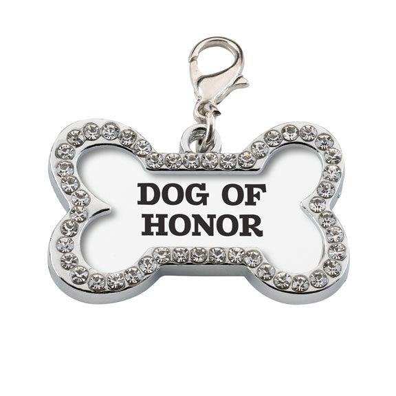 Wedding Dog Collar Charm Dog of Honor