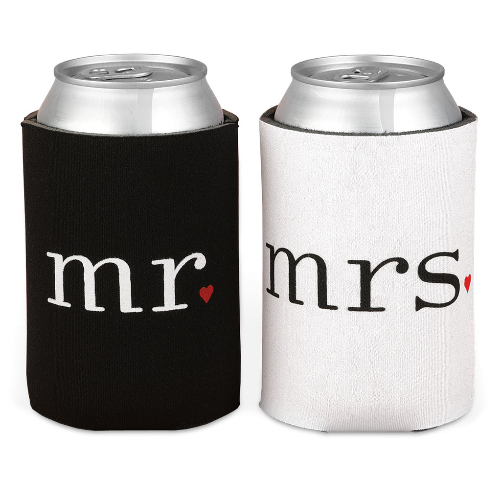 Mr. and Mrs. Can Coolers