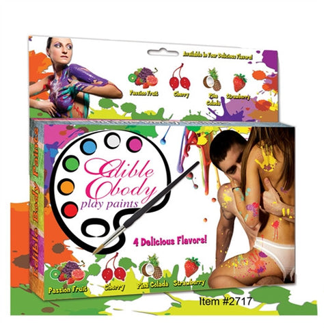 Edible Body Paint Kit