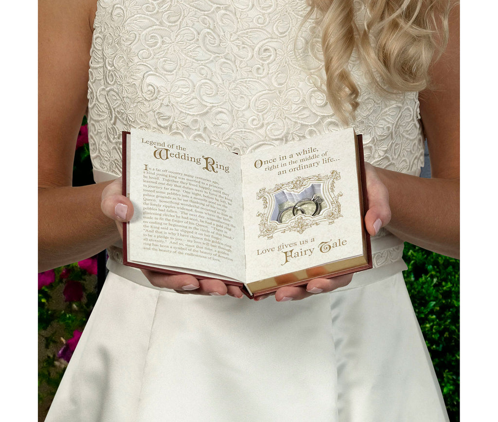 A Tale As Old As Time Fairytale Wedding Ring Holder