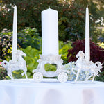 """Once Upon A Time"" Fairy Tale Wedding Candle Stand"