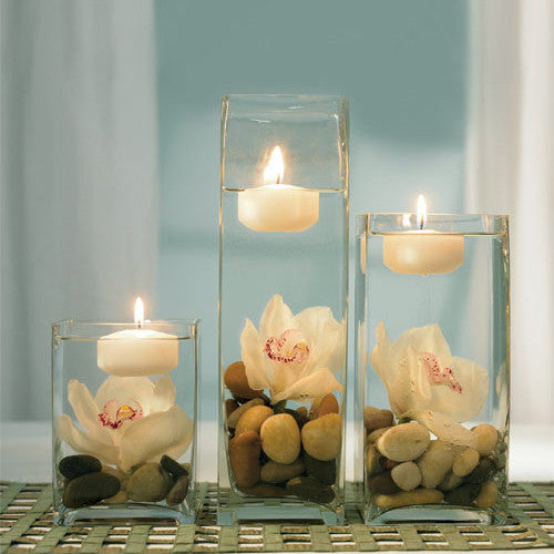 Floating Candles - Round - Large (Pack of 3)