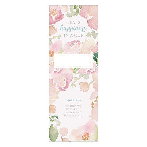 Garden Wedding Party Favor Wrap