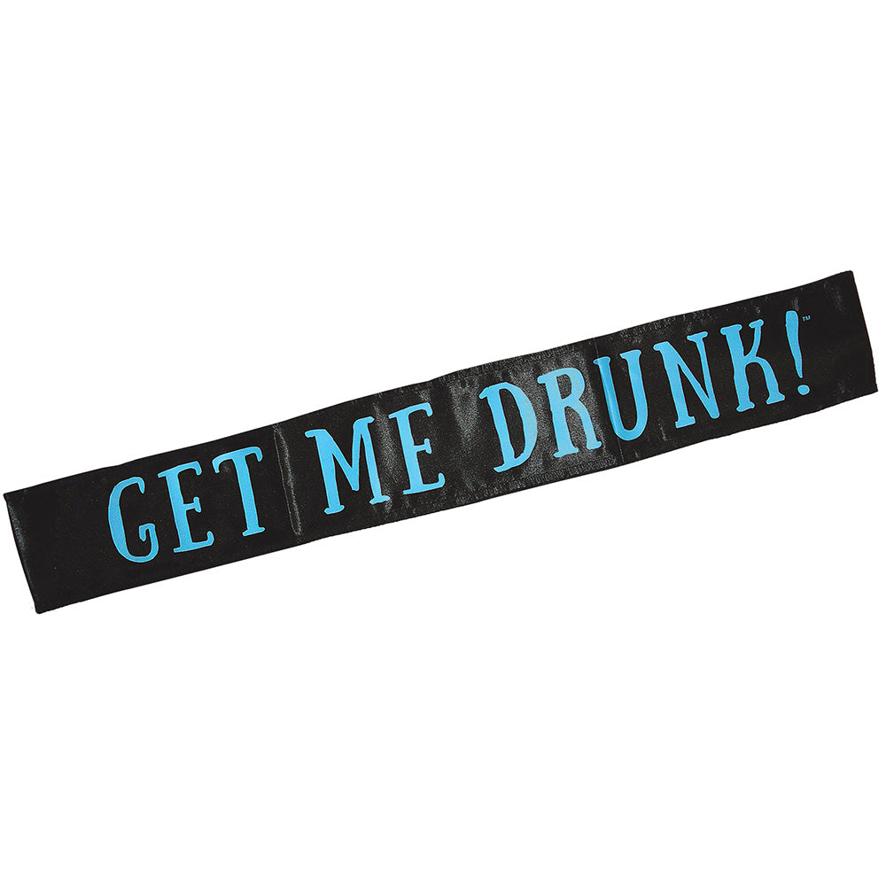 Get Me Drunk! Bachelorette Bachelor Party Sash
