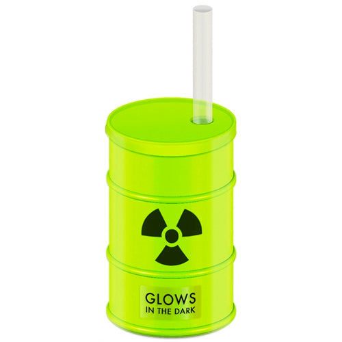 Glow-in-the Dark Toxic Symbol Party Tumbler Cup