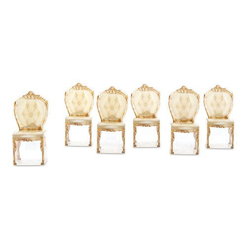 Gold Chair Wedding Party Favor Boxes